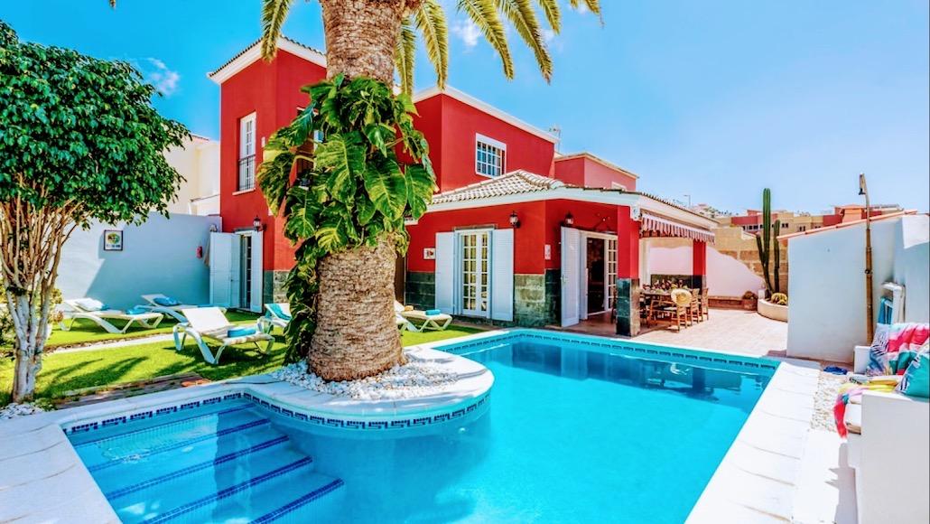 Villa La Palma  –  Madroñal de Fañabe  – Ref: 3V9101